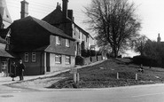 Billingshurst, the Church Slopes c1950