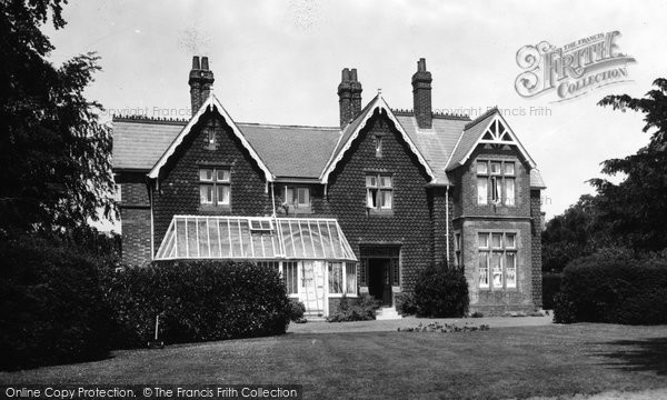 Billingshurst, The Vicarage 1915