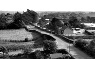 Bilsborrow, Bilsborrow Lane c.1960