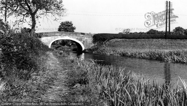 Bilsborrow, The Canal c.1960