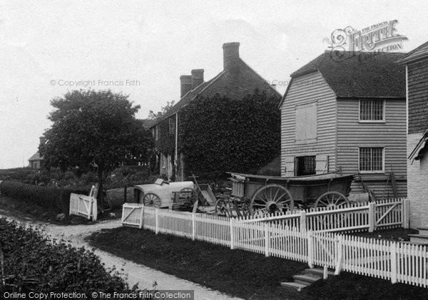 Bilsington, Wagon Maker's Yard 1909