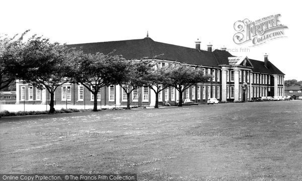Bilston, The Girls' High School c.1965