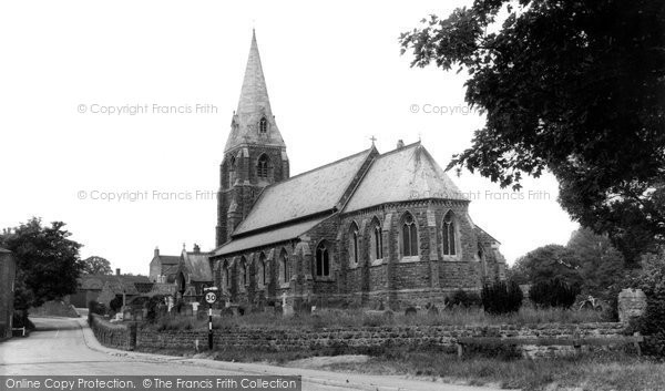 Binbrook, St Mary And St Gabriel Church c.1955