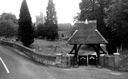 Binfield, All Saints Church And Lychgate c.1955