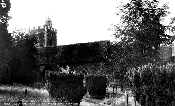 Binfield, All Saints Church c.1965