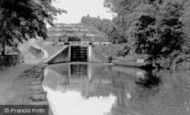 Bingley, Five Rise Locks c.1955