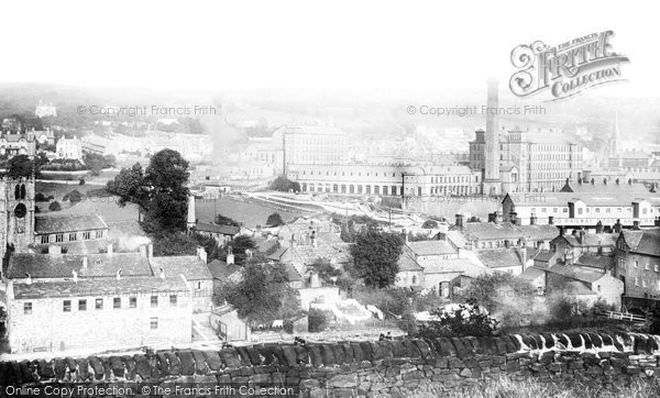 Bingley, From Altar Row 1894