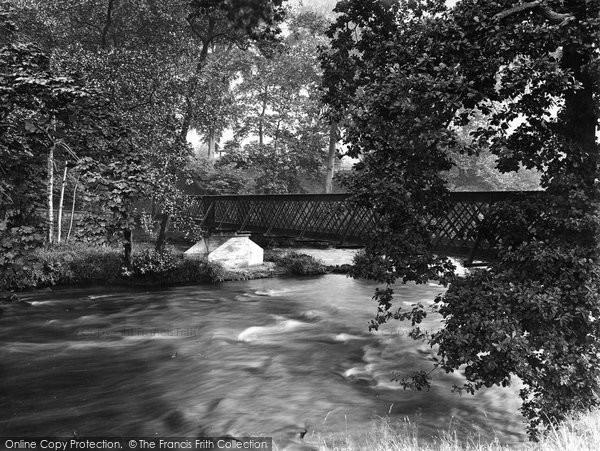 Bingley, Myrtle Park, The Bridge 1926