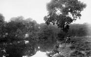 Bingley, River Aire 1926