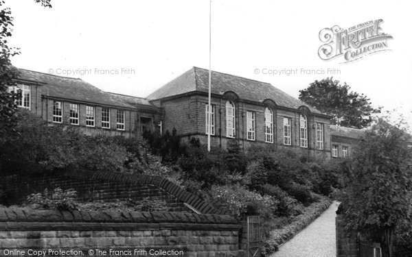 Bingley, The Grammar School c.1955