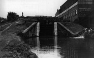 Bingley, Three Rise Locks c1955