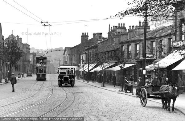Bingley, Traffic In Main Street 1926