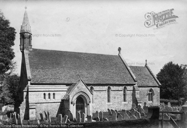 Binstead, Holy Cross Church c.1875