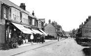 Photo of Birchington, Station Road c1900