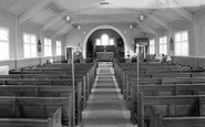 Bircotes, Christ Church Interior c.1965