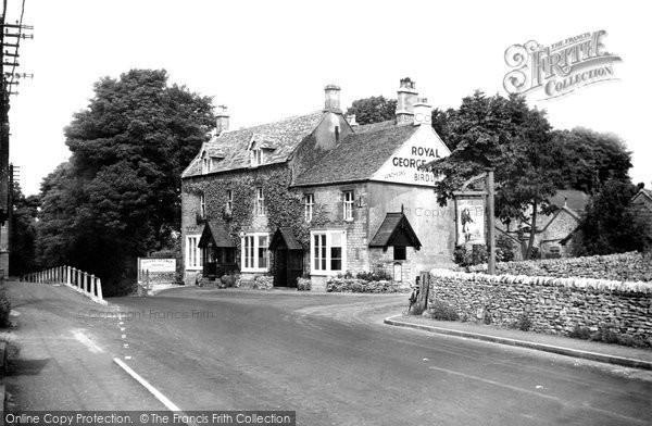 Birdlip, Royal George Hotel c.1955