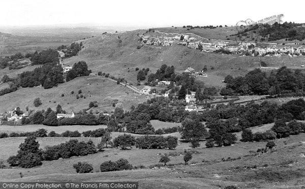 Birdlip, View From Birdlip Hill c.1955