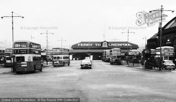 Photo of Birkenhead, Ferry and Bus Terminus 1964