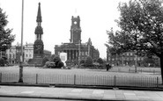 Birkenhead, Hamilton Square And City Hall c.1955