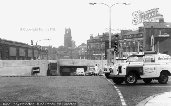 Birkenhead, Queensway Tunnel c.1965