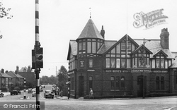 Birkenhead, Storeton Road and Halfway House Hotel 1954