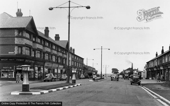 Birkenhead, Woodchurch Road, Prenton 1954