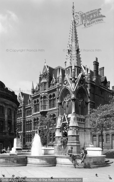 Birmingham, Chamberlain Place c.1960