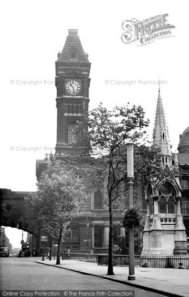 Birmingham, Chamberlaine Place And Museum c.1960