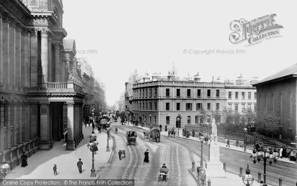 Photo of Birmingham, Colmore Row 1896