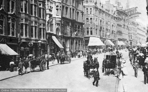 Birmingham, Corporation Street 1899