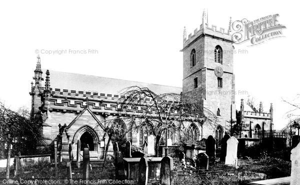 Birmingham, St Mary's Church, Handsworth 1896