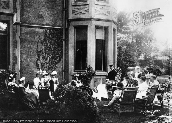 Birmingham, Tea At The Grange, Erdington 1899