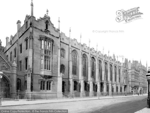 Birmingham, The Grammar School c.1890