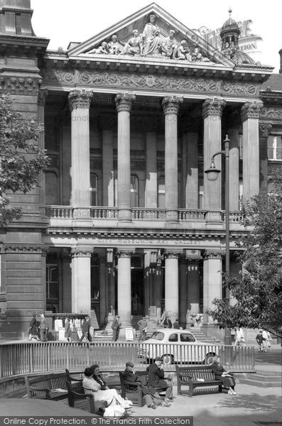 Birmingham, The Museum And Art Gallery c.1960