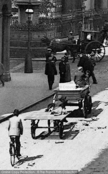 Birmingham, Traffic, New Street 1890