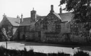 Birstall, Oakwell Hall From Gardens c.1950