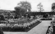 Birstall, Oakwell Hall, The Gardens c.1950