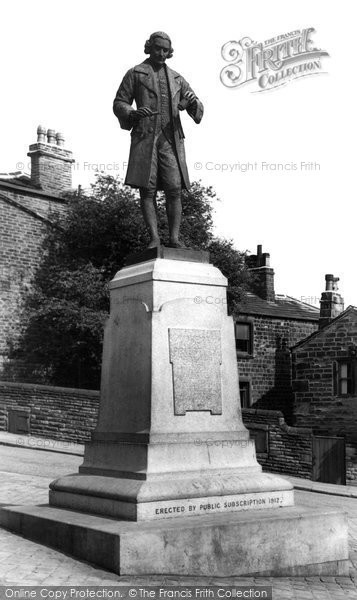Birstall, The Joseph Priestley Memorial c.1950