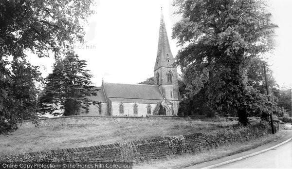Birstwith, St James Church c.1960