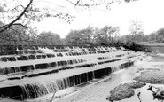 Birstwith, The Waterfall c.1960