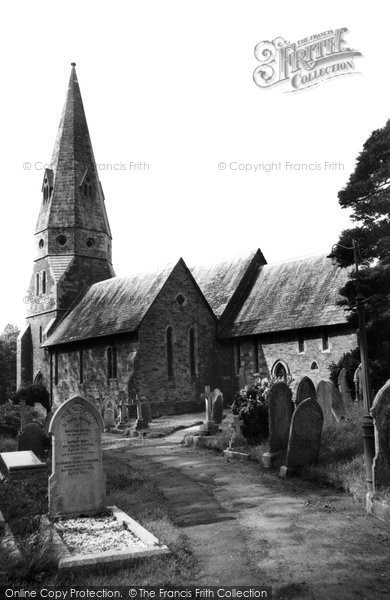 Biscovey, St Mary's Parish Church c.1955