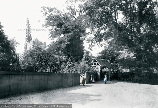 Bisham, All Saints Church And Lychgate 1890