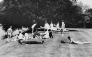 Bisham, Canoeists By The River 1965