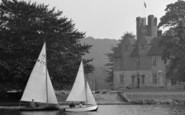 Bisham, Sailing Boats And Abbey 1953