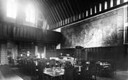 Bisham, The Dining Hall, Bisham Abbey, National Recreational Centre 1953
