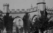 Bishop Auckland, Castle 1892
