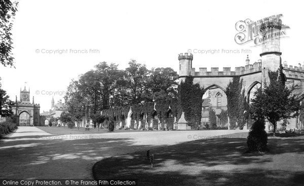 Bishop Auckland, Castle Gateway 1892