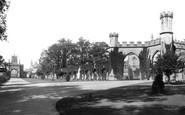 Bishop Auckland, Castle Gateway 1892