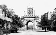 Bishop Auckland, Castle Gateway 1898