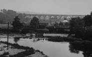Bishop Auckland, Dam Head And Newton Cap Viaduct 1923